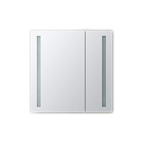 AQUADOM Royal Basic, LED Medicine Cabinet, Touch Screen Button, Dimmer (30in x 30in x 5in)