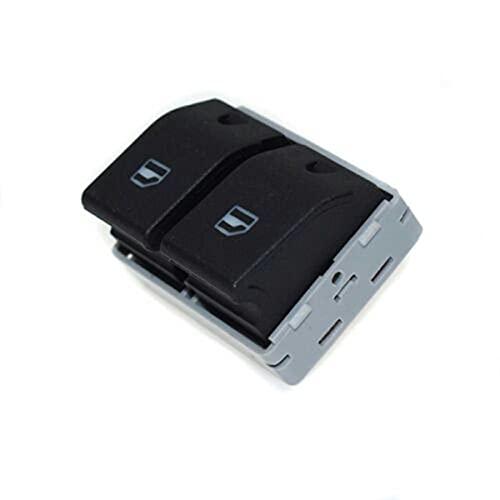 Nihlsen Interruptor de ventana trasera de potencia adecuado para Seat Cordoba Ibiza 6Q0 959 858 A coche ventana elevador interruptor