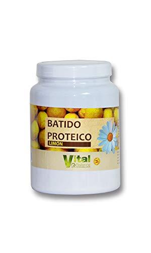 Vital Ball Batido Proteico Sabor Limon 500 Gr Bote 500 Gramos 500 ml