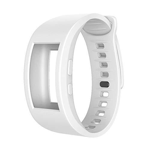 TPulling Sansung Gear Fit 2Pro Bracelet de Sport en Silicone Souple Taille 140 à 220 mm, Weiß