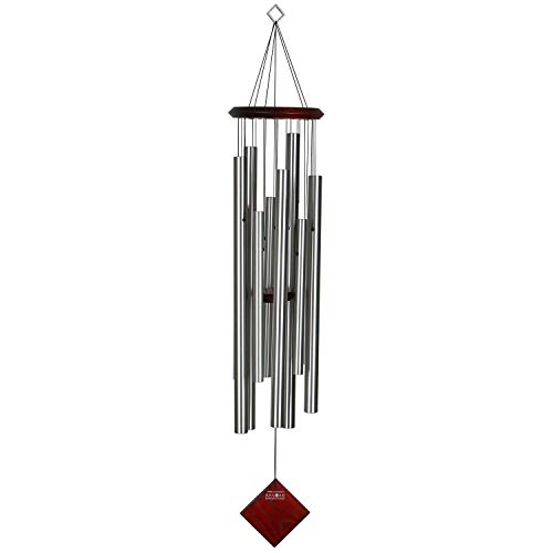 Woodstock Chimes DCS40 Chimes of The Eclipse-Silver, 101 x 18 x 18 cm
