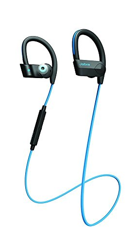 Jabra Sport Pace Wireless In-Ear-Sport-Kopfhörer (Stereo-Headset, Bluetooth 4.0, NFC, Freisprechfunktion) blau