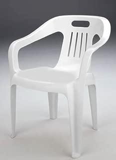 GBSHOP Sedia Poltrona da Giardino Economica in plastica//Resina Confezione da 6 Pezzi Offerta