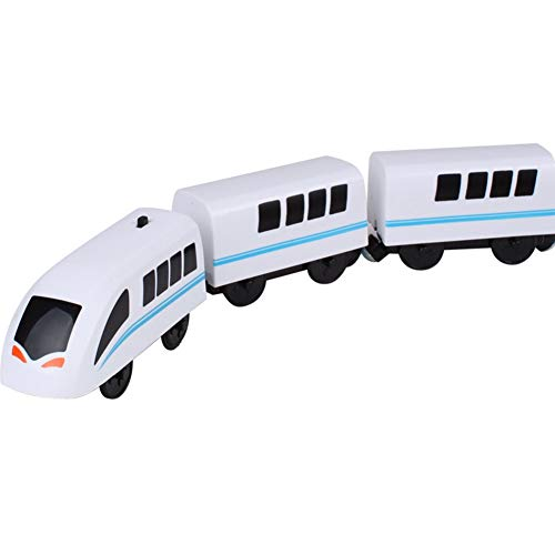 Surakey Tren Eléctrico de Juguete, Juguete de Locomotora Eléctrica,Tren Eléctrico Magnético Juguete...