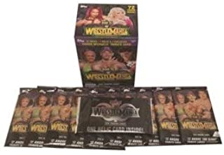 RE Live The Year's Greatest Matches and Moments in WWE! 18 Topps WWE Wrestling Road to Wrestlemania Exclusive Value Box Trading Cards - Great Addition to Any Collection Or for Gifting!