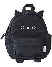 aboo(アブー)くろねこ3WAYベビーリュック かわいい 動物 猫 黒 アニマル 猫 ねこ バックパック ハーネス 出産祝い 男の子 女の子