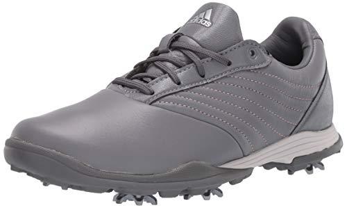 adidas Damen W Adipure DC2 Golfschuh, Grau Three/Glory Pink/Grau Vier, 42 EU