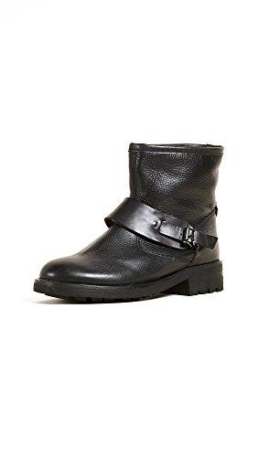 Hudson London Damen Mac Biker Boots, Schwarz (Black), 40 EU
