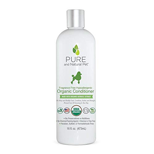 Pure and Natural Pet - Fragrance Free Hypoallergenic Organic Conditioner Fragrance Free 16 oz.