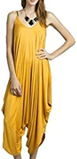 Mustard Casual Jumpsuit For Women