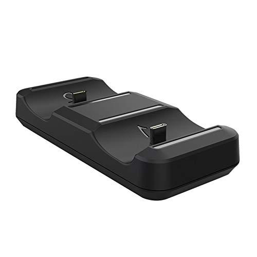 gilivableskr Dockingstation für PS5-Controller-Ladegeräte Griff Controller USB-Schnellladegerät Dual Charging Dock Stand Dual USB Typ C Schnellladestation