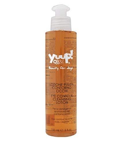 Yuup Lozione Pulizia Contorno Occhi - Detergente per l'igiene quotidiana del contorno occhi, per cane e gatto