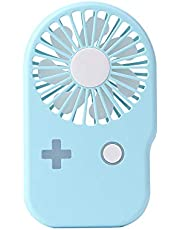 USB 扇風機 ミニ扇風機 携帯扇風機 小型扇風機 風量2段階調節 手持ち ストラップ付き 首掛け扇風機 コンパクト 超軽量 68g 大人 子供適用