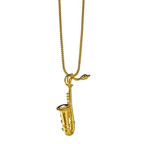 Halskette mit Schmuckanhänger »Saxophon«