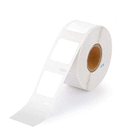 "Markurlife Compatible Label Replacement for 30332 LW Adhesive White Mailing, Address Label 1"" x 1"" x750 Label Each (25mm x 25mm) for DYMO LabelWriter 450 400 Twin Turbo 330 400 4XL, 4 Roll"