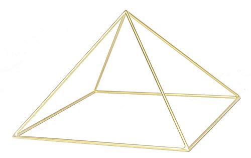 25cm Kupfer Pyramide zur Meditation, Heilenergie, Pyramidenmeditation, Pyramide für Edelsteine, Pyramide um Kristalle aufzuladen