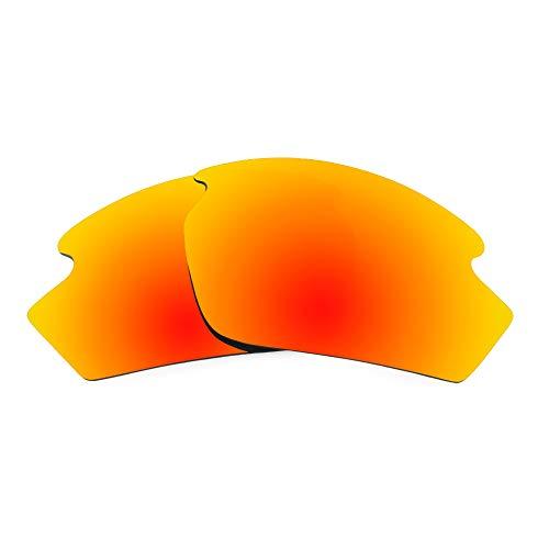 Revant Revant Ersatzgläser Kompatibel mit Rudy Project Rydon, Polarisiert, Elite Feuerrot MirrorShield
