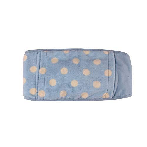 USB Elektrische verwarming Belt, Buik Warm Massage Brace Belt, pijnbestrijding Portable Waist Verwarming Pad Belt, Home/Office Winter Warm Riem met Pocket, 108x19cm (Color : A)