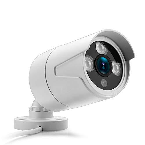 2.8mm ancha IP de la cámara 1080P 960P 720P ONVIF P2P de detección de movimiento RTSP Alerta XMEye 48V POE vigilancia CCTV al aire libre (Focus : 3.6mm, Sensor Size : DC 12V 1080P)
