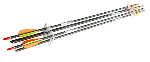 Royalbeach Aluminium Pfeile 29'' Camo, 5 Bogen-Pfeile für Bogensport, Bogenschießen, mit Schraubspitze für Recurvebogen Sportbogen Compoundbogen