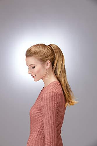 Hothair lange gelaagde pruik Pony Ginger bruin