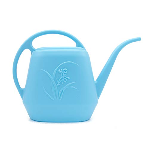 UFANME 1 Gallon Watering Can-Plastic (Navy)