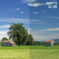 High Frequency EMF Shielding Window film RDF72-Premium Width 2.49 Feet Length 3 Feet
