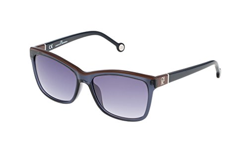 Carolina Herrera SHE598550W47 Gafas de sol, Azul, 55 para Mujer