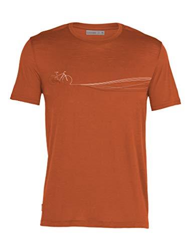 icebreaker Herren Spector Cadence Paths T-Shirt, roote, XXL