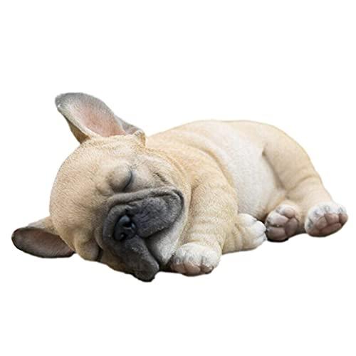 Easy-topbuy Hunde Statue, Dekofigur Garten Hunde Statue Dekoration, Indoor Outdoor Hundekulptur Kreative Gartenkunst, Desktop Ornament Statue Für Wohnzimmer