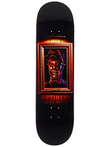 Anti Hero Skateboard-Brett/Deck, 22 cm, Schwarz