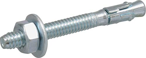 The Hillman Group 370980 Wedge Anchor, 1/4 X 2-1/4-Inch, 40-Pack