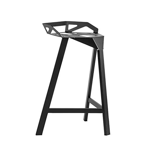 Dyljyf driehoekige kruk, modern, minimalistisch, uniek design, geschikt voor café, ontvangst in de woonkamer