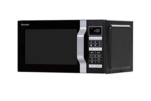 Sharp Home Appliances R860BK magnetron-werkvlak combi 25L 900W zwart magnetron
