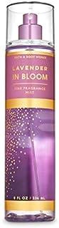 Bath & Body Works LAVENDER IN BLOOM Fragrance Mist, 8 fl oz / 236 ml