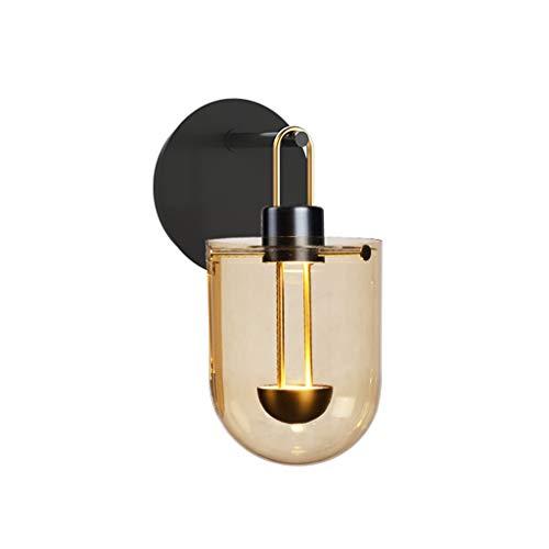 Lámpara de Pared Lámpara de Pared LED pequeña Sala de Estar Minimalista Moderna Restaurante Luz Europea Personalidad de Lujo Arte Dormitorio Lámpara de Noche Luces de Pared