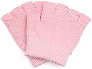eDealMax rosa del dedo de la hidratación de la piel agrietada Guantes tratamiento del balneario del