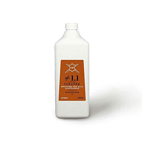 Ledermax - Cleaner #1.1 - Intensiver Reiniger für alle Glattleder und Alcantara, ml:1000ml