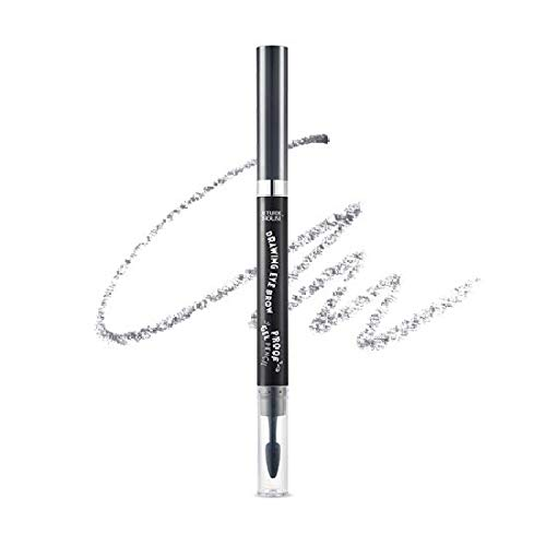 Etude House Drawing Eye Brow Proof Gel Pencil (#06 Dark Grey) | Waterproof Eyebrow Pencil | Natural Eyebrows that Last For a Long Time