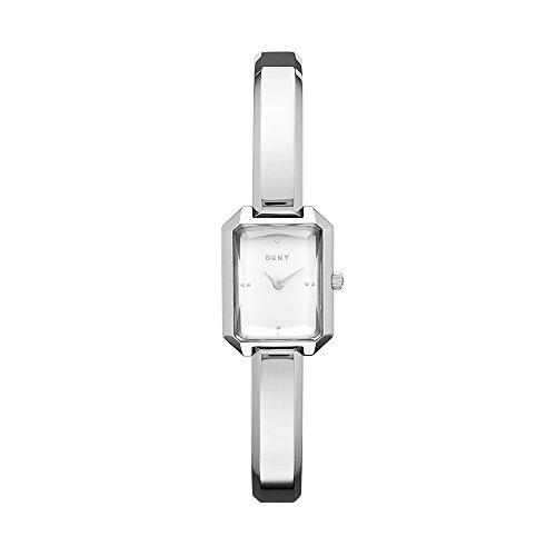 DKNY Damen Analog Quarz Uhr mit Edelstahl Armband NY2647