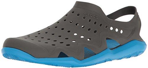 Crocs Crocs Swiftwater Wave, Herren Geschlossene Sandalen, Graphit/Ozean, 43-44 EU (9 UK)