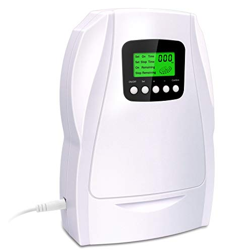 VTAR Ozone Generator,Portable Multipurpose Ozone Ionizer Cleaner for Home Room Car,O3 Ozone Machine for Air Water Food Hunting