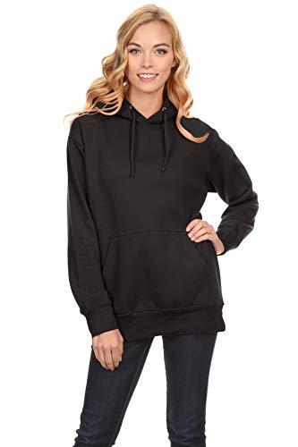 Simlu Black Hoodie Pullover, Black …
