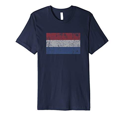 Niederlande Flagge Holland Dutch vlag van Nederland (T Shirt