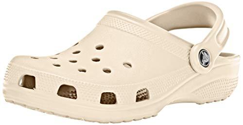 Crocs Unisex-Erwachsene Classic versch. Farben Zuecos, Weiß (Winter White), 39 EU