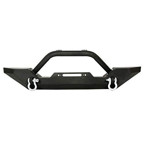 Front Bumper For 1986-2006 Jeep Wrangler TJ YJ With D-rings Never Go Out Of Style
