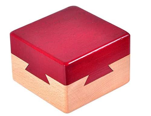 Caja de Rompecabezas de Madera, Caja de Juguetes Creativa, Caja de Rompecabezas, Secreto Caja de Regalo Cerebro Madera Puzzle Adulto y Niño
