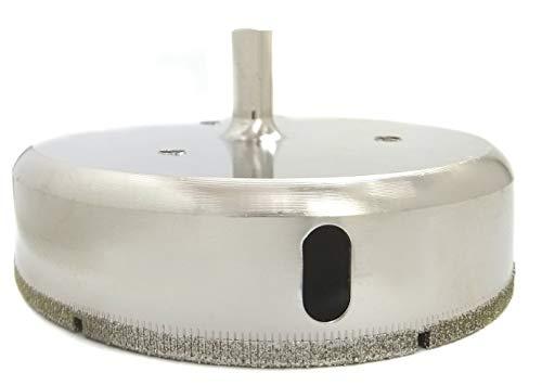 DRILAX 4 1/2 Inch Diamond Hole Saw Drill Bit Porcelain Tile Ceramic Glass 4.5 Inch Standard Shank