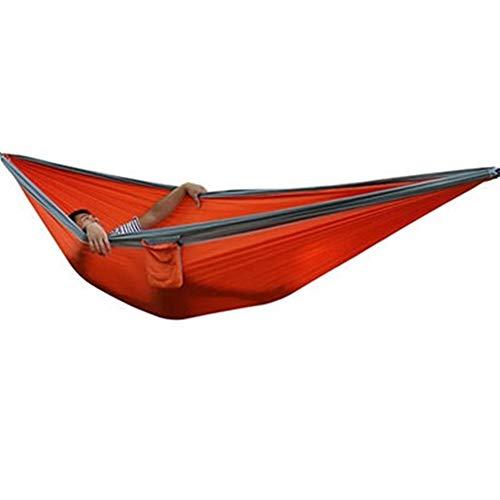 GZSC Hamac Portable Parachute Tissu Tissu Camping Hamac en Plein Air Ultra-Grand Double Personne Survie Loisirs Suspendu en Nylon 300 * 200 cm (Color : Same as Picture6)