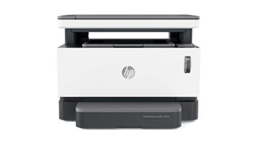 HP Neverstop Laser MFP 1202nw multifunctionele printer (20 ppm A4, WiFi, kopiëren, scannen, USB) wit